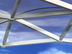 Frame systems with ETFE films are cost-effective and lightweight